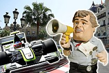Formel 1 - Mercedes wird Weltmeister: Video-Highlights 2009: Satire-News Monaco GP