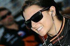 IndyCar - Noch zufrieden mit der Saison: Schulterzucken bei Danica Patrick