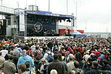 DTM - N�rnberg statt Baku: Fan-Service: Roman Lob auf dem Norisring