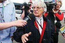 Formel 1 - Die Standpunkte sind klar: Ecclestone: Probleme nicht unl�sbar