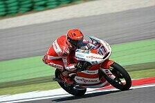 Moto3 - Mit einem guten Gef�hl ins Rennen: Bradl startet von Rang 13