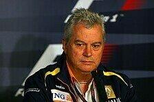 Formel 1 - Auf anderen Wegen zum Sport etwas beitragen: Symonds darf sofort als Berater arbeiten