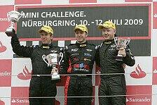 MINI Challenge - Spannung bis zur letzten Runde: Daniel Keilwitz gewinnt auf dem N�rburgring