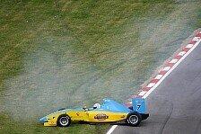 Formel 2 - Soucek gewinnt Lauf 2: Schlimmer Unfall von Henry Surtees