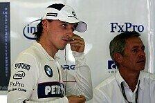Formel 1 - Vom Ausstieg im Internet gelesen: Kubicas morgendlicher Schock