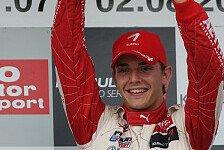 F3 Euro Series - Die Formel 1 als gro�es Ziel: Jules Bianchi