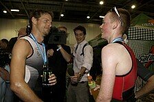 Formel 1 - Bilder: Button & Smith beim London Triathlon