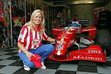 Formel 1 - Frau in der Warteschleife: Marussia: De Villota wird Ersatzfahrerin