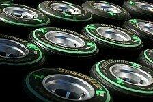 Formel 1 - Mut zur L�cke: Bridgestone benennt Reifenmischungen