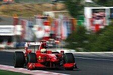 Formel 1 - Rückblick: Luca Badoer im Ferrari