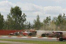 Formel 1 - Keine Strafen: Rennkommissare: Es waren nur Rennunf�lle