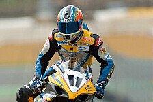 Superbike - Nur noch eine Suzuki: Alstare 2011 Einmannteam