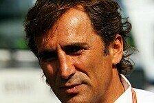 Formel 1 - Ein vern�nftiger Junge: Zanardi glaubt an Hamilton