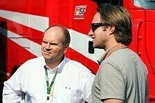 Formel 1 - Verpokert: Hurley: Ferrari w�re toll