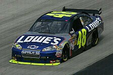 NASCAR - Mark Martin und Jeff Gordon ohne Chance: Jimmie Johnson gewinnt �berlegen in Phoenix