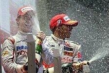 Formel 1 - Bilder: Singapur GP - Podium