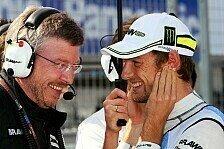 Formel 1 - Verstehe Mercedes nicht: Button: Brawn der perfekte Teamleader