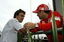 Formel 1 - Schon �fter eingeladen: Alonso sagte f�r Massas Kartrennen ab