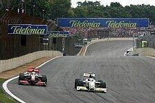 Formel 1 - Der F-Kanal als gro�e Hilfe: Die Feinheiten des Interlagos-Setups