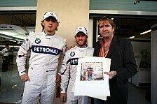 Formel 1 - Abschiedsgeschenke ausgetauscht: Sauber schenkt Heidfeld ein Auto