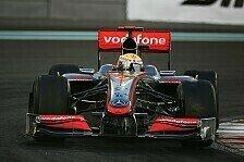 Formel 1 - Tests f�r den Nachwuchs: Hamilton verleast alte F1-Autos