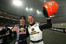 Formel 1 - Eine anst�ndige Feier: Schumacher: Viel Spa� in Peking