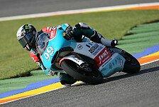 Moto3 - Unterst�tzung von Dorna und IRTA: Chance f�r Webb bei Andalucia Cajasol