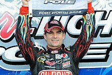 NASCAR - Jimmie Johnson startet in Texas von Rang zw�lf: Jeff Gordon setzt seine Pole-Serie fort