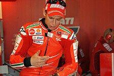 MotoGP - Nicht sicher, aber Titelkampf ist das Ziel: Stoner: Hoffentlich um Titel k�mpfen