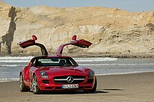 Auto - Faszination und Hightech: Mercedes-Benz SLS AMG