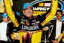 NASCAR - Kevin Harvick gewann zum zweiten Mal in Folge: Truck: Ron Hornaday Junior ist Champion