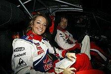 WRC - Nur zum Vergn�gen: Ehepaar Loeb gewinnt Rallye in der Schweiz