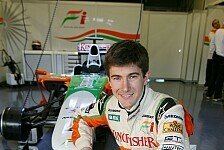 Formel 1 - Der Speed ist ph�nomenal: JR Hildebrand