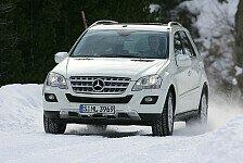 Auto - Winterreifen m�ssen her: Mit Allradantrieb durch den Winter