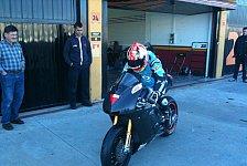 Moto2 - In Verhandlung mit sechs WM-Teams: FTR Moto mit gutem Moto2-Test in Almeria