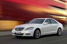 Auto - Sparpotenzial!: Von au�en betrachtet: Mercedes-Benz S 400 HYBRID