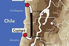 Dakar - D�nen in der H�he: Die Dakar-Route - Die 5. Etappe