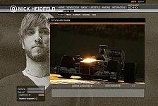 Formel 1 - Website-Weltmeister: Fan-Service: Heidfeld-Website gewinnt Leserwahl