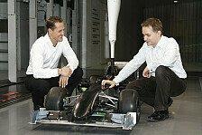 Formel 1 - Toll f�r die Statistiker: Auch USF1 feiert Schumacher-Comeback