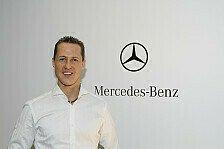 Formel 1 - Keine Nackenprobleme mehr: Video - Michael Schumacher im Interview