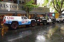 Dakar - Team HUMMER vor der Dakar