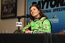 NASCAR - Danica Patrick und Nelson Piquet Jr. deb�tieren: ARCA: Prominente Starter in Daytona