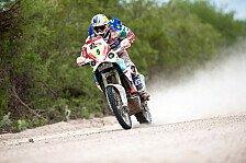 Dakar - Despres behauptet Gesamtf�hrung: 5. Etappe: Lopez Contardo siegt, Coma im Pech