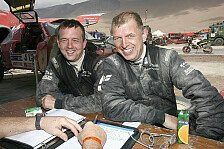 Dakar - Was z�hlt, ist das Ergebnis: Matthias Kahle und Thomas M. Sch�nemann