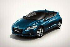 Auto - Garant f�r Fahrspa�: Weltpremiere des Honda CR-Z Hybrid-Sportcoup�