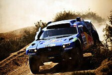 Dakar - Dakar-Sieger unter sich: De Villiers in Russland vor Sainz
