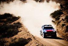 Dakar - Nasser Al-Attiyah sitzt Carlos Sainz im Nacken: 11. Etappe: Chicherit gewinnt vor Terranova