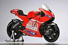 MotoGP - Zum Stillschweigen verpflichtet: Ducati versteigert Stoners GP10 und Rossis GP11
