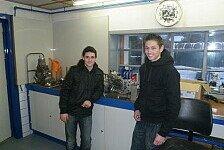 IDM - Team Sachsenring mit Verst�rkung: 125 - H�bsch & van der Mark bilden Team