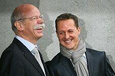 Formel 1 - Rosberg: Es ist traurig und schrecklich: Schumacher bleibt Mercedes-Botschafter